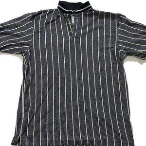 Vintage 90's Striped Polo Greg Norman